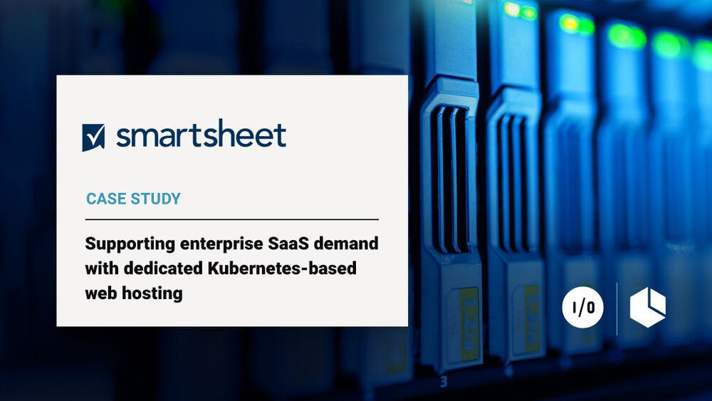 amazee.io provides dedicated Kubernetes-based hosting for Smartsheet's Drupal website