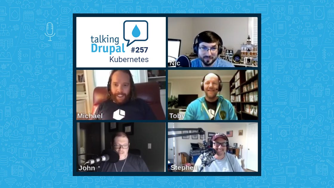 amazee.io talking Kubernetes with Talking Drupal podcast