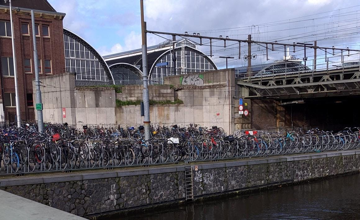 DrupalCon Amsterdam bicycles