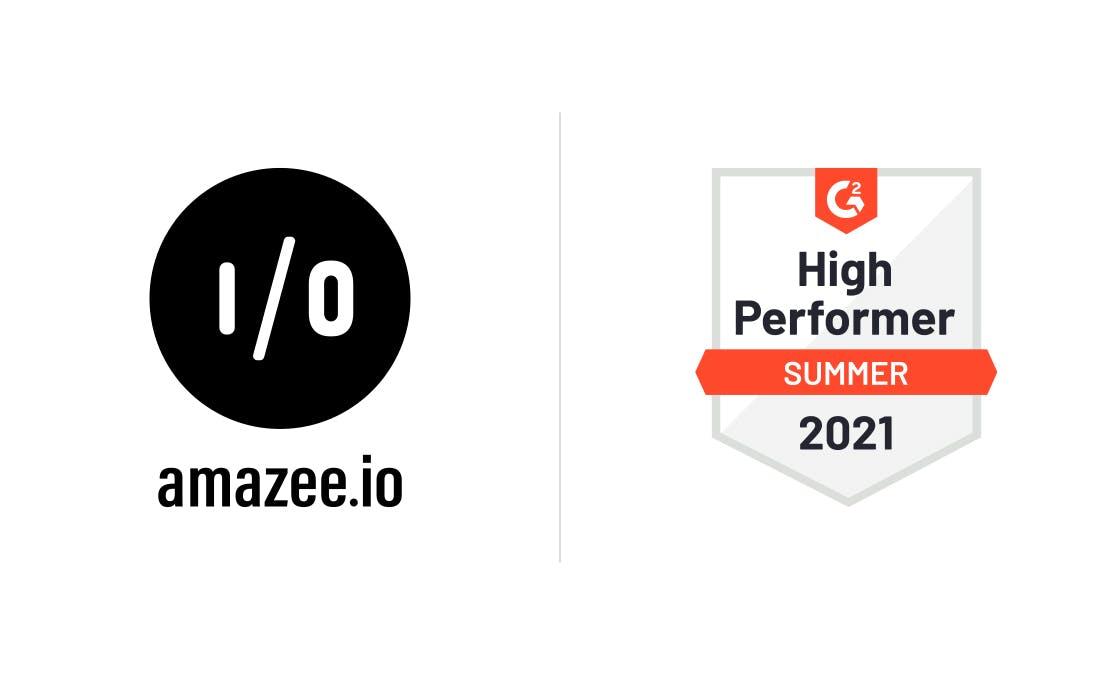 amazee.io | High Performer Summer 2021
