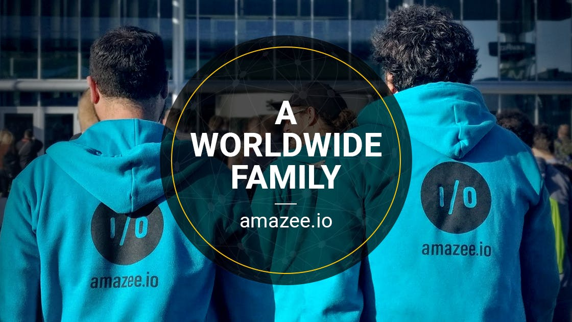 amazee.io is a worldwide family of web hosting experts