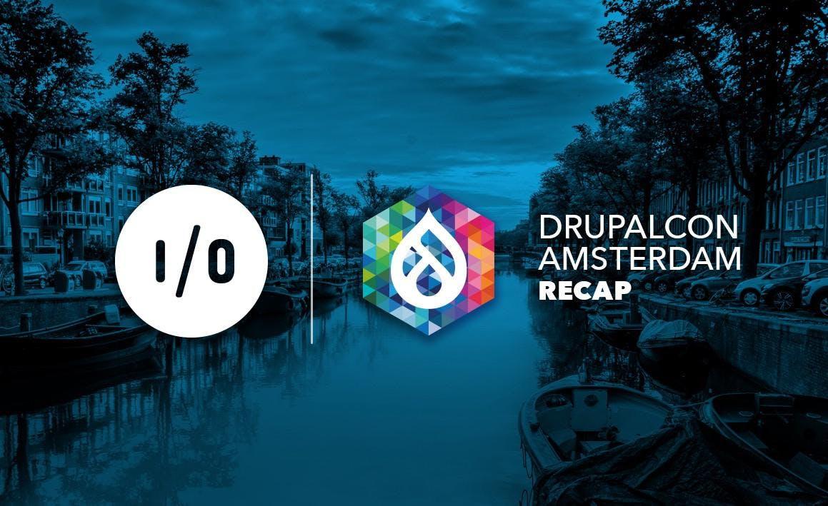 DrupalCon Amsterdam Recap Graphic