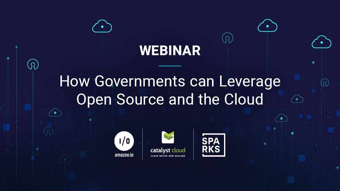 Webinar: How Governments can Leverage Open Source and the Cloud