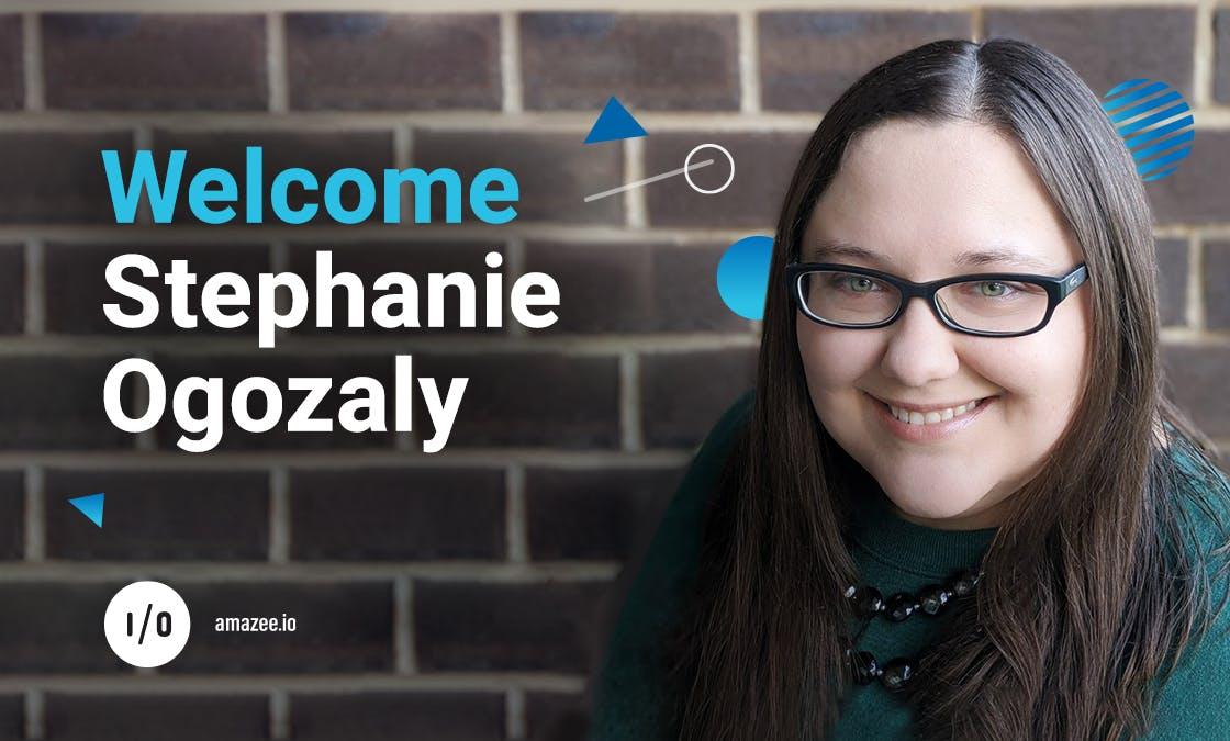 Wecome to amazee.io, Stephanie Ogozaly