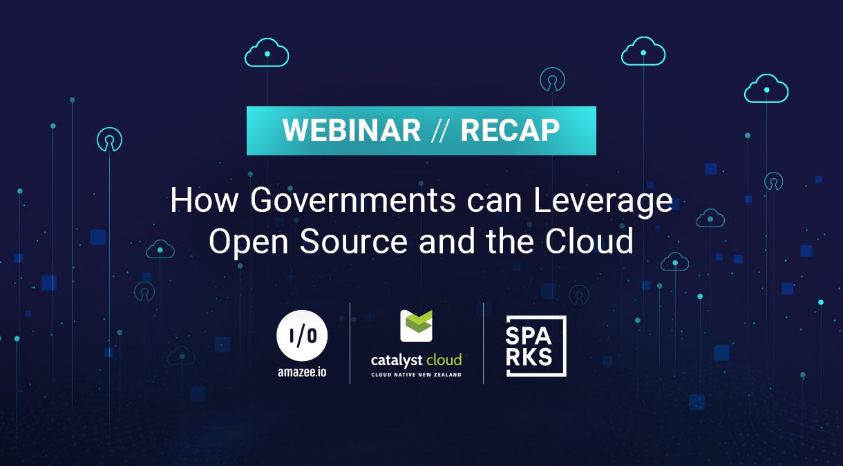 Webinar Recap article of how Governments can Leverage Open Source and the Cloud
