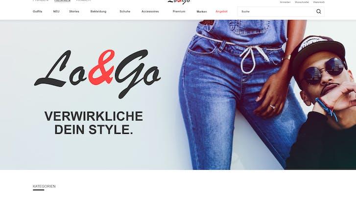 Screenshot Hauptseite