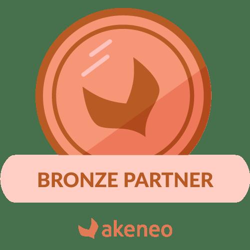Badge Akeneo PIM Bronze Partner