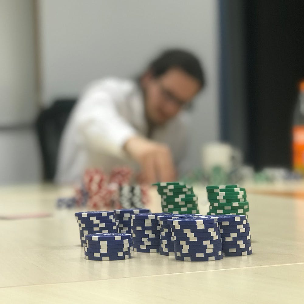 Pokerchips und Pascal