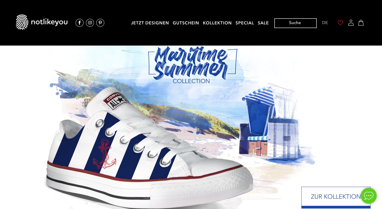Shopware Screenshot von NLY