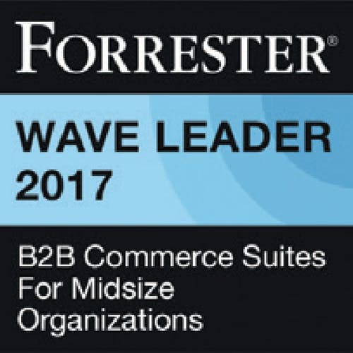 The Forrester Wave™: B2B Commerce Suites For Midsize Organizations, Q3 2017