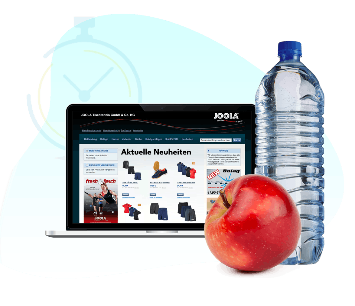 Case Study Joola Spitzensport