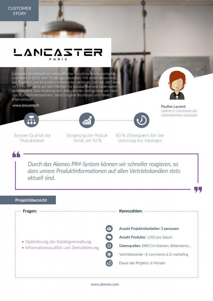 Case Study Vorschau Lancaster