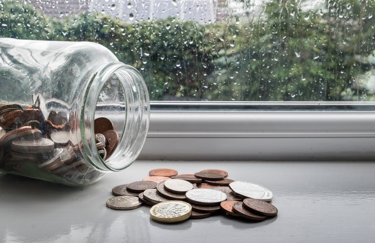 Amigo Loans save money with a rainy day fund