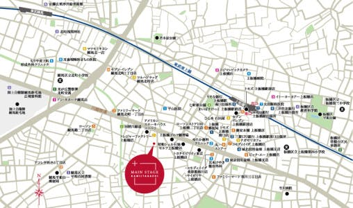 有名大学が点在する都心各所への通学、オフィスが集中する東京駅周辺や新宿、渋谷などへの通勤も快適です。