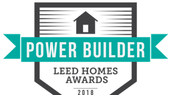 Power Builder LEED Homes Awards 2018