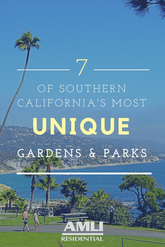 Southern California's most unique gardens and parks