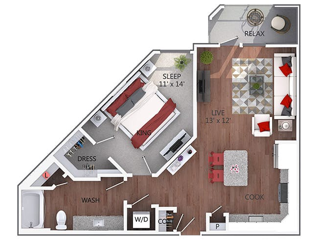 A3 - AMLI Denargo Market