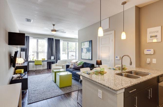 Frisco Apartment Interior