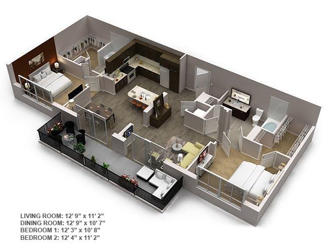 Apartments In Downtown Dadeland Amli Joya