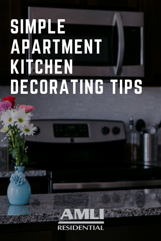 apartment kitchen decorating tips