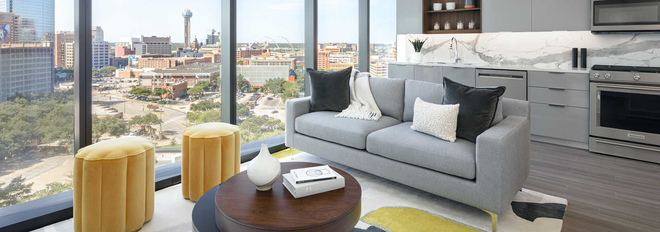 Residences with sweeping views of Dallas