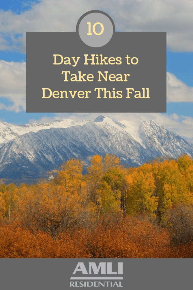 Day Hikes to Take Near Denver this Fall