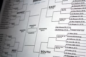 March Madness brackets