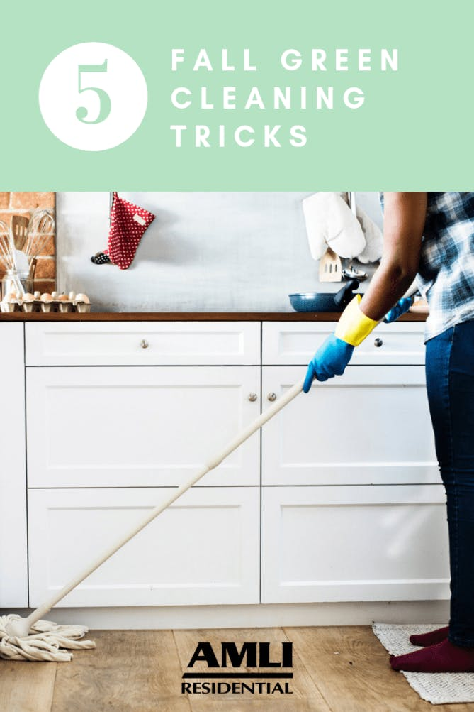 Fall Green Cleaning Tricks