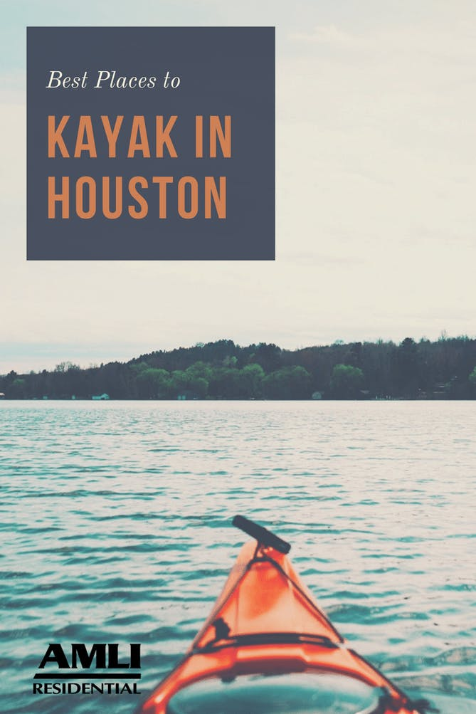 best places to kayak in houston