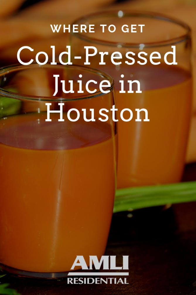 Where to Get Cold-Pressed Juice in Houston