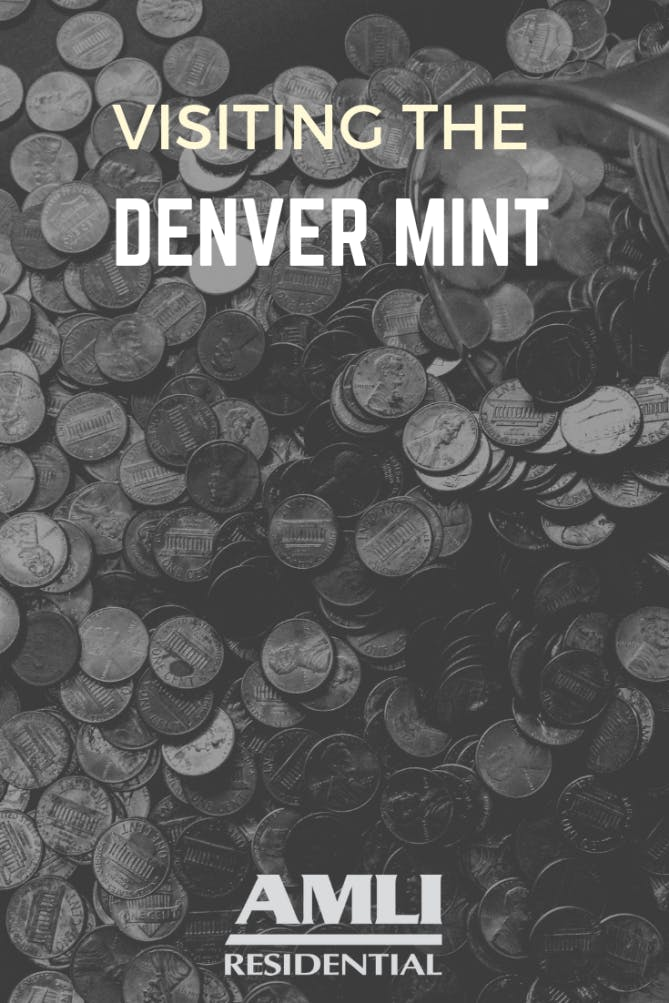 visiting the denver mint