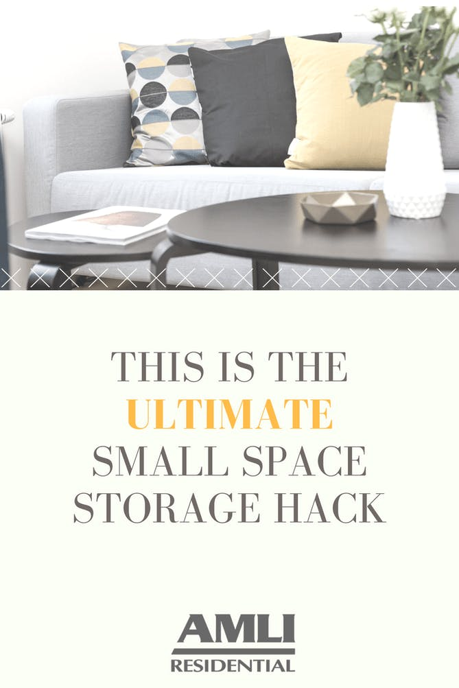 small space storage hack