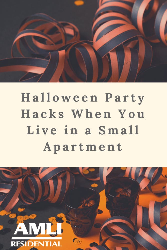 Halloween Party Hacks When You Live in a Small Apartment