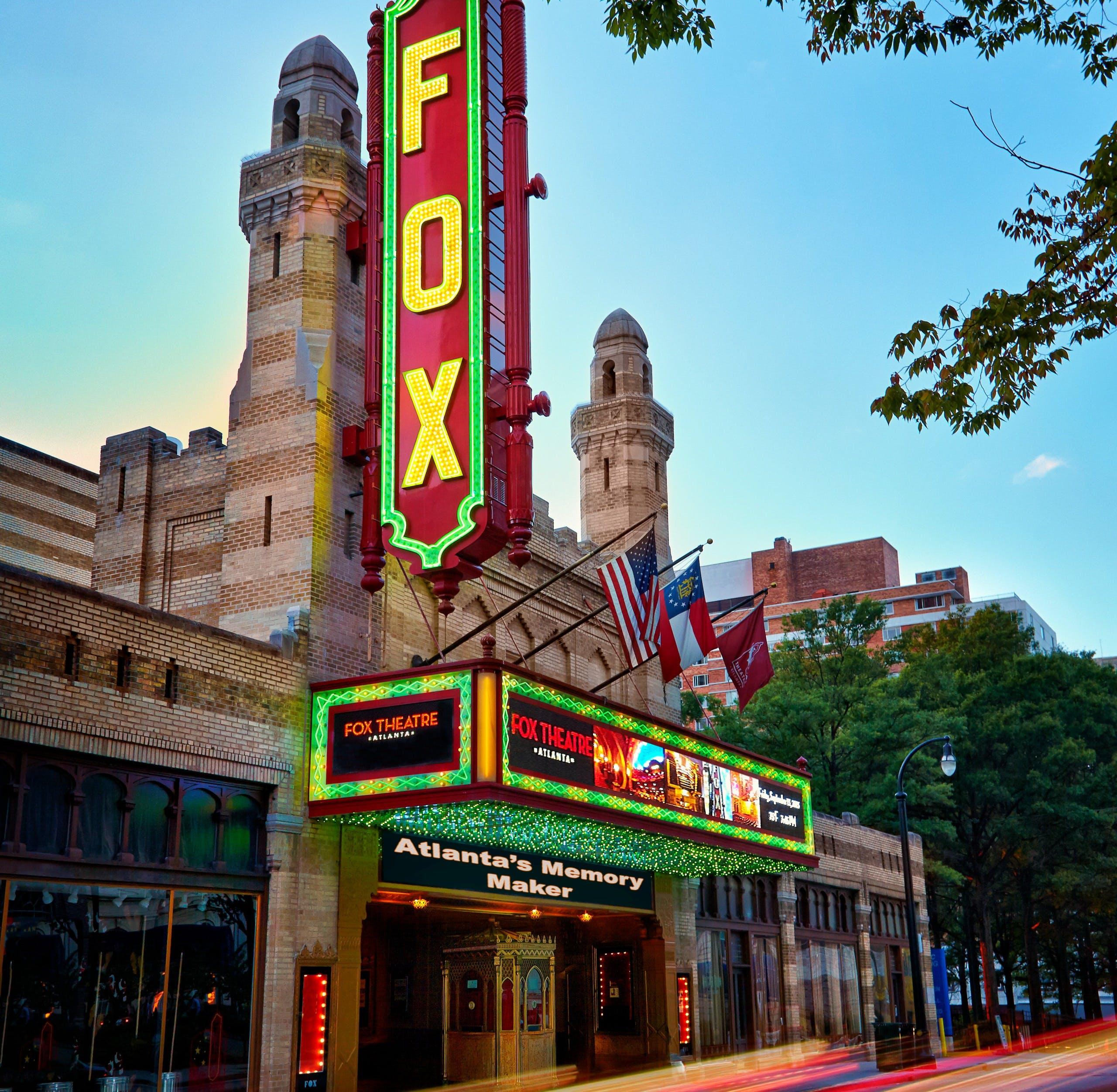 exterior of Fox Theatre