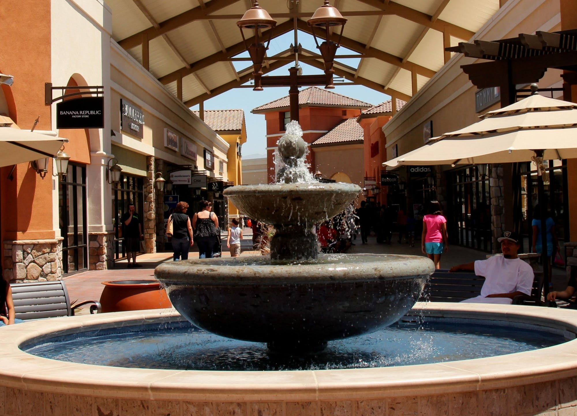 fountain in Old Town Camarillo