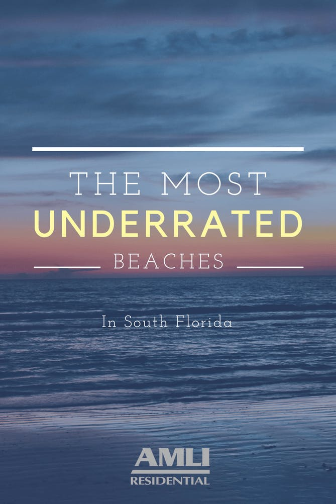 Underrated Beaches in South Florida