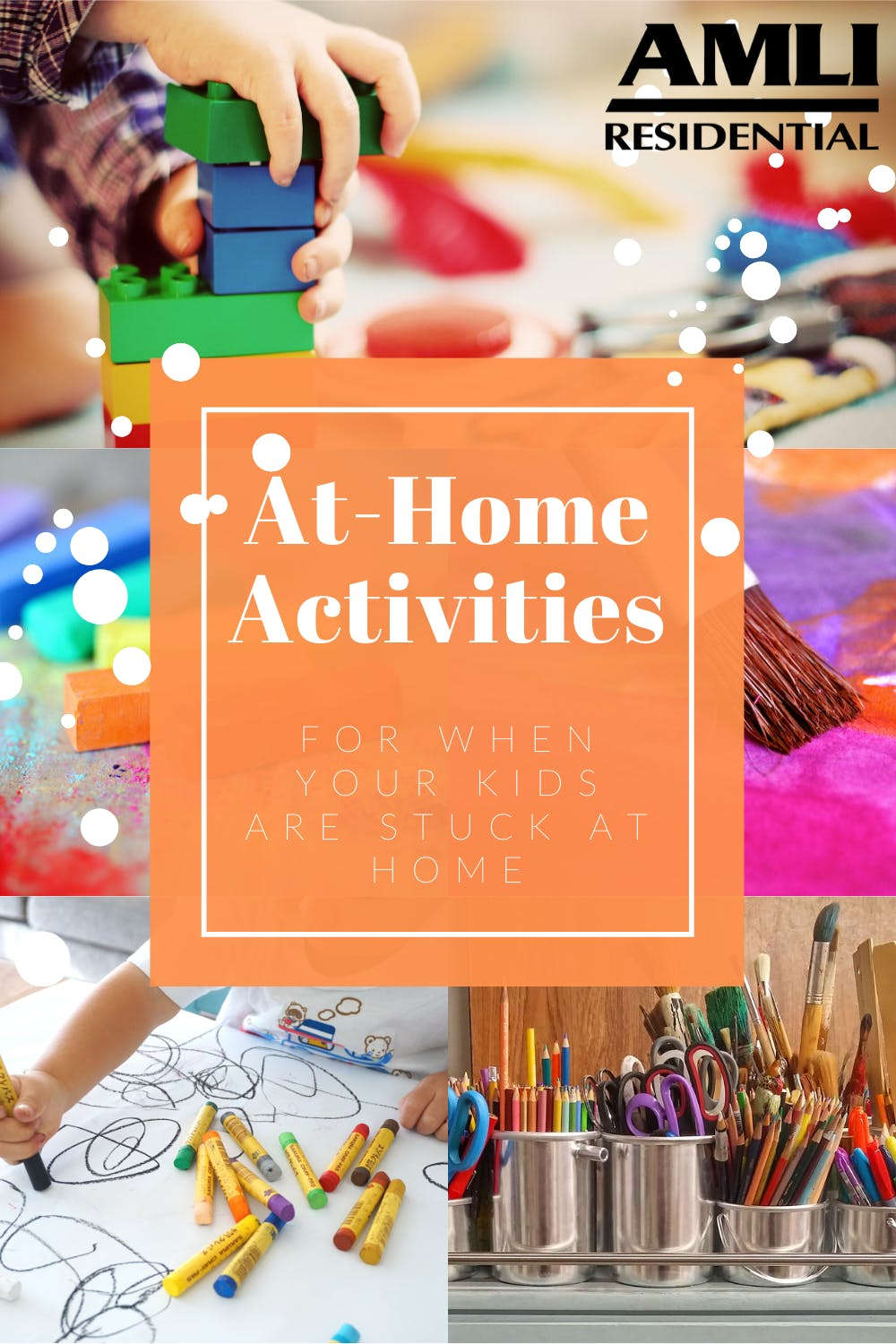 at home activities to do with your kids pinterest pin