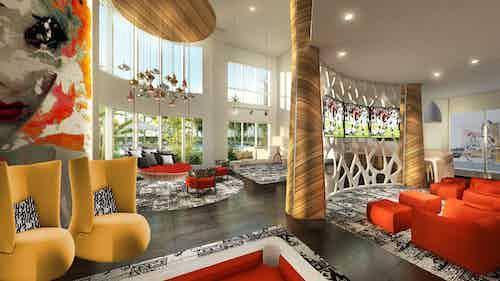 Clubroom rendering