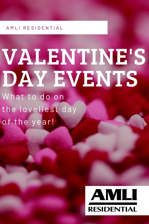 Valentine's Day events pinterest graphic