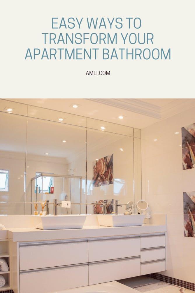 Transform Your Apartment Bathroom