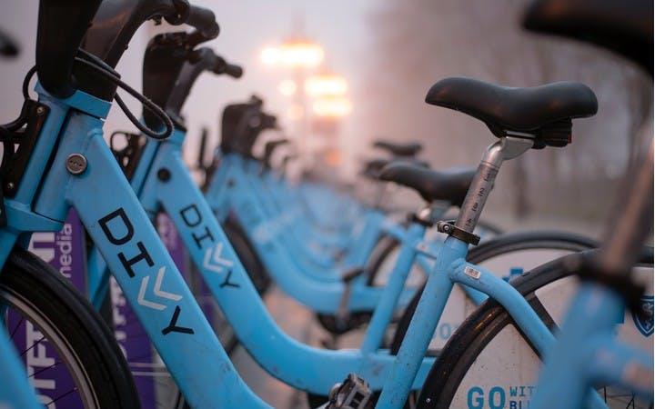 Divvy bike station