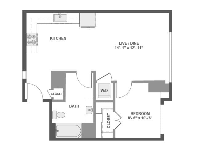 Downtown Seattle Studio 1 2 Br Apartments Amli Arc