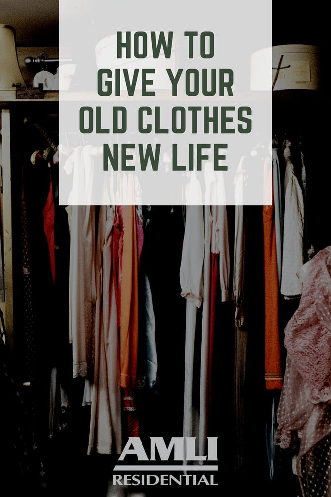 Give Your Old Clothes New Life