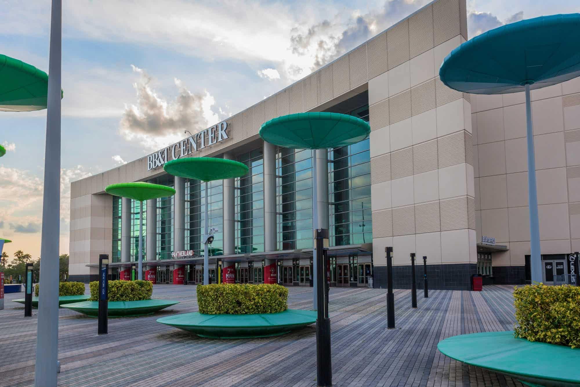 BB&T Center exterior