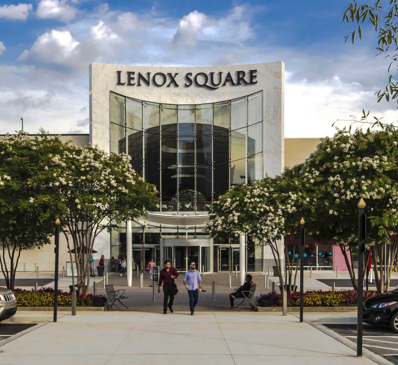 exterior of Lenox Square
