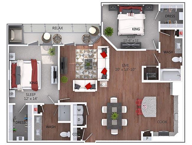 C6 - AMLI Denargo Market