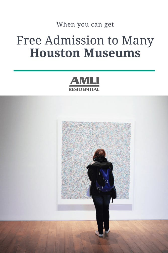 Free Admission to Many Houston Museums