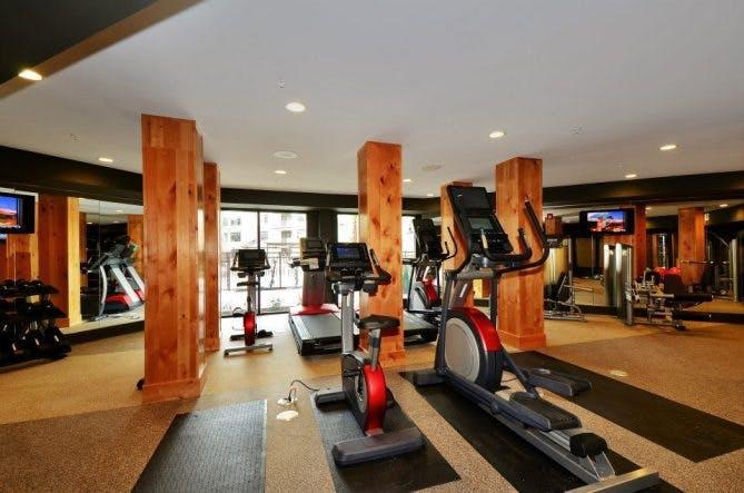 Frisco Apartment Fitness Center