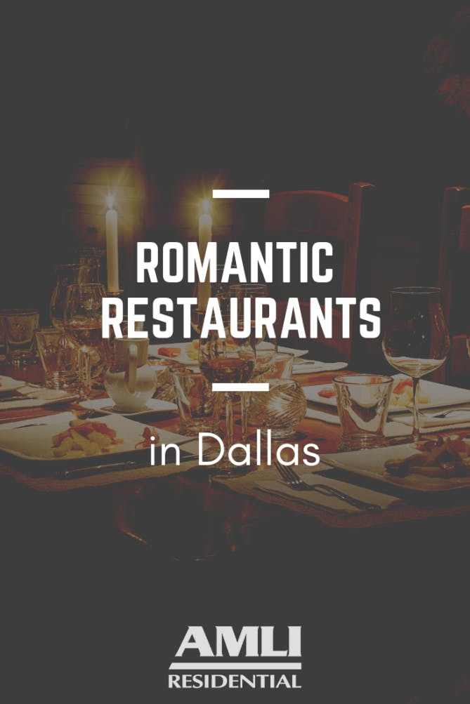 Romantic Restaurants in Dallas