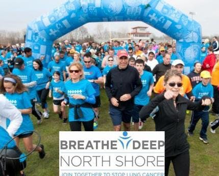 Breathe Deep North Sure Lung Cancer Awareness Month event